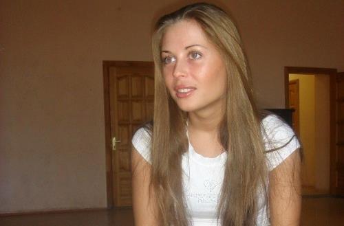 Юлия Михалкова в молодости