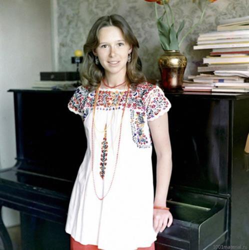 Евгения Симонова в молодости