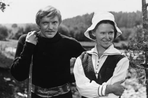 Евгения Симонова с первым мужем - Кайдановским