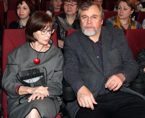 Евгения Симонова и ее муж Андрей Эшпай