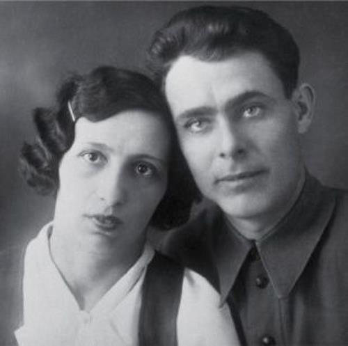 Викториия Петровна и Леонид Ильич в молодые годы