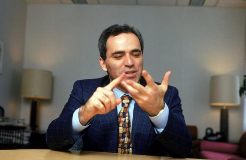 Великий шахматист Гарри Каспаров