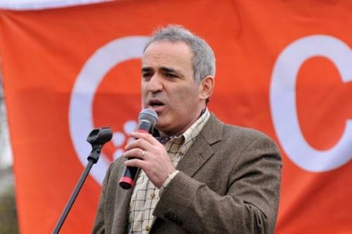 Гарра Каспаров в политике