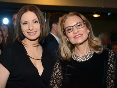 Светлана Тома и дочь Ирина Лачина