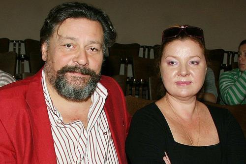 Дмитрий Назаров с женой Ольгой Васильевой