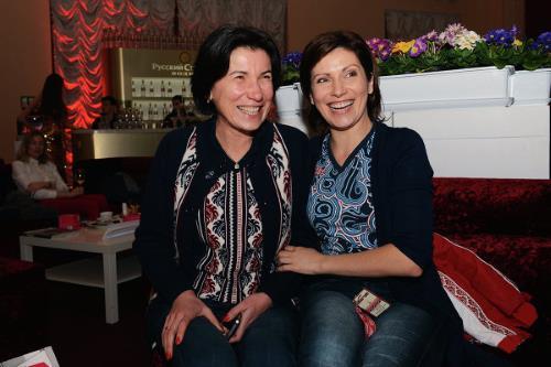 Светлана с сестрой Ириадой