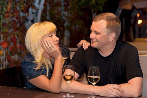 Оксана Пушкина с мужем Алексеем Широких