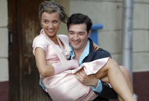 Ксения с мужем Егором