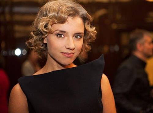 Ксения Алферова в молодости