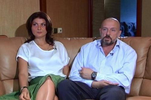 Алексей Нилов с женой Еленой
