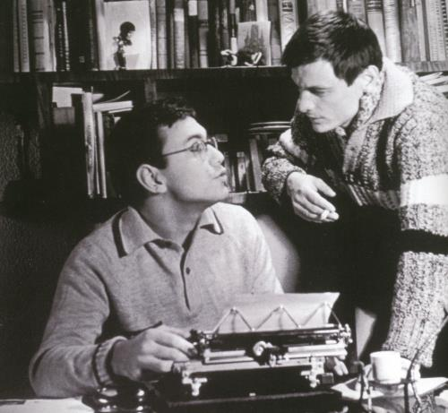 Андрей Тарковский и Кончаловский