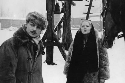 Андрей Тарковский с первой женой Ирмой