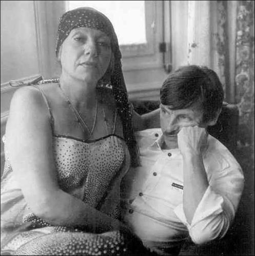 Тарковский с женой Ларисой Кизиловой