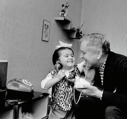 Николай Гриценко с дочерью Катюшей