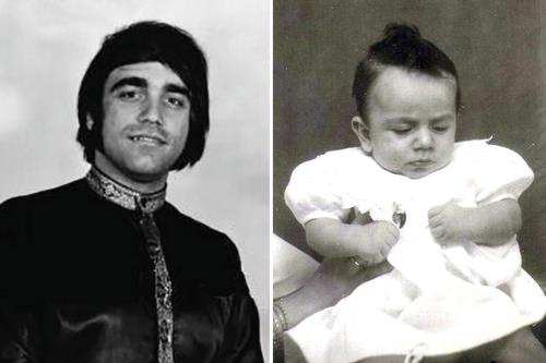 Демис Руссос в молодости и в детстве