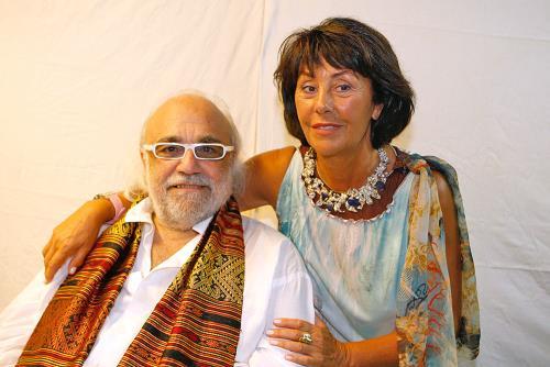 Демис Руссос и жена Мария-Тереза
