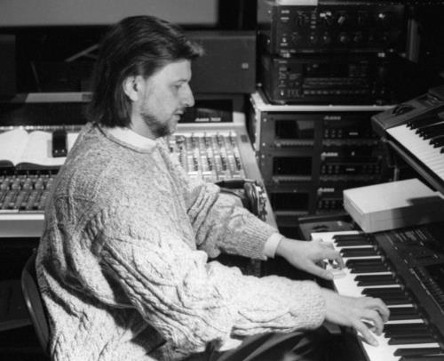 Алексей Рыбников в студии