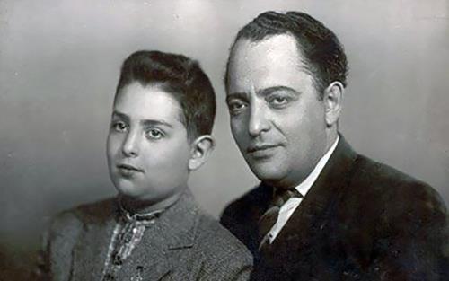 Миша с отцом