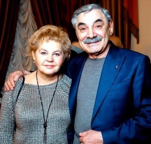 Александр Панкратов-Чёрный с женой Юлией