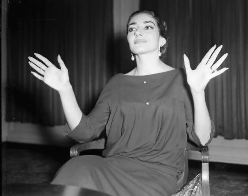 Оперная дива Мария Каллас