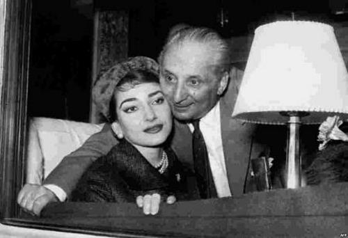 Каллас с мужем
