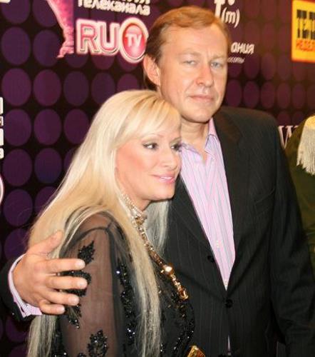 Наталия Гулькина с мужем