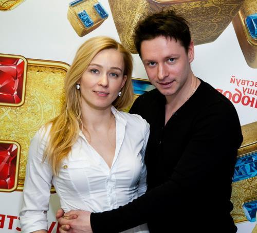 Владимир Жеребцов с женой Анастасией