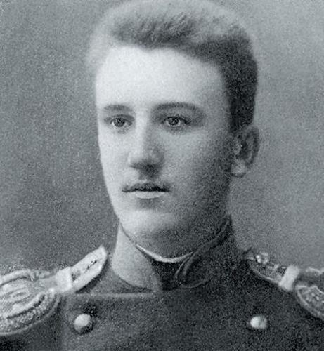 Александр Куприн в молодости