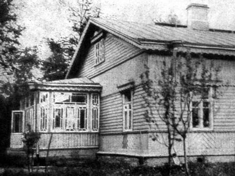 Дом Александра Куприна в Гатчине