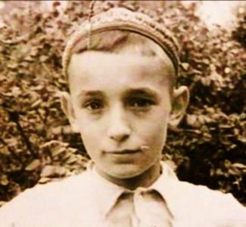 Детское фото Валентина Гафта