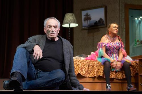 Валентин Гафт на сцене театра