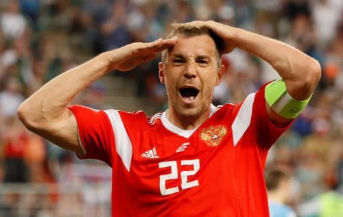 Артем Дзюба в национальной сборной России