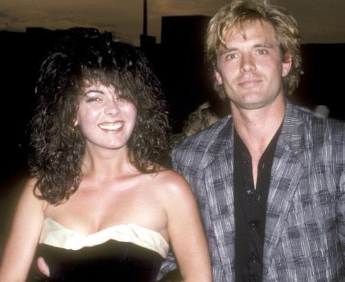 Джин Марш и ее бывший муж Майкл Бин в молодые годы