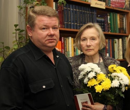 Лариса Ивановна с сыном