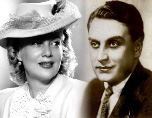 Любовь Орлова с мужем Григорием Александровым