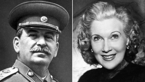 Любовь Орлова и Иосиф Сталин