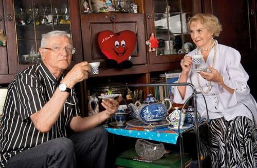 Татьяна Пилецкая и муж Борис Агешин