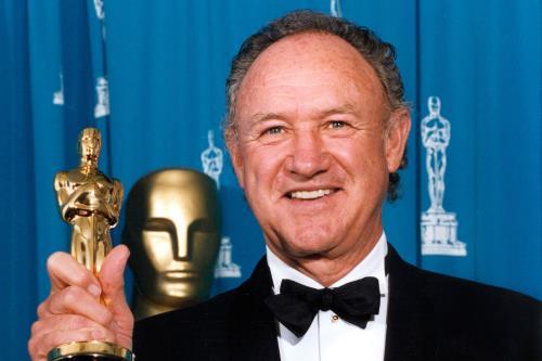 Джин Хэкмен с Оскаром!