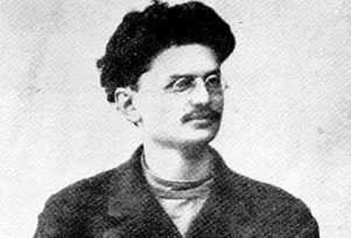 Лев Троцкий в молодости
