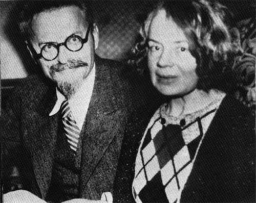 Лев Троцкий и Наталья Седова