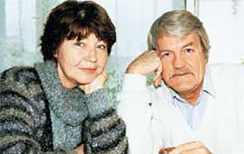 Кулагин с женой Элеонорой