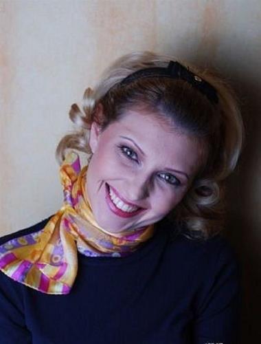 Елена Зеленская в молодости