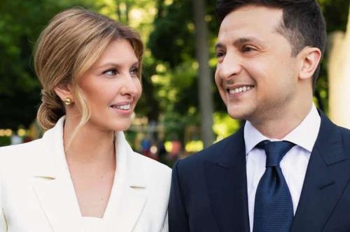 Первая леди с президентом Украины - супруги Зеленские