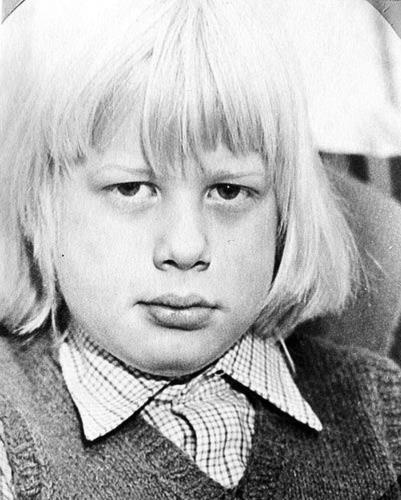 Детское фото Бориса