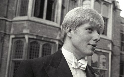 Борис Джонсон в молодости