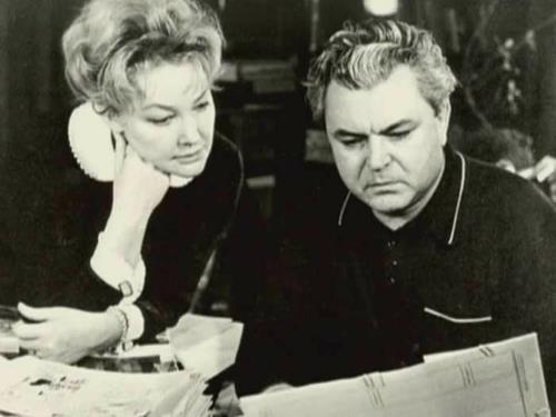 Сергей Бондарчук с женой Ириной Скобцевой