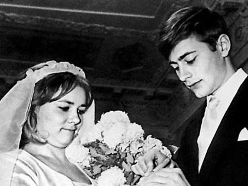 Смирнитский с первой женой Людмилой Пашковой