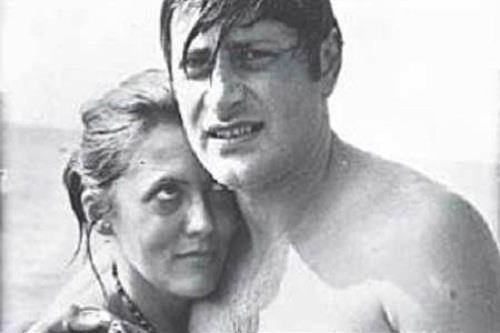 Актер со второй женой Ириной Коваленко