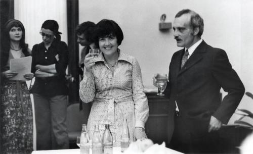 Виктория Токарева и Георгий Данелия в молодости 1977 г.