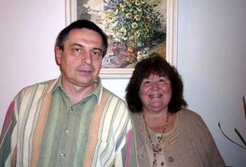 Виктория Токарева с мужем